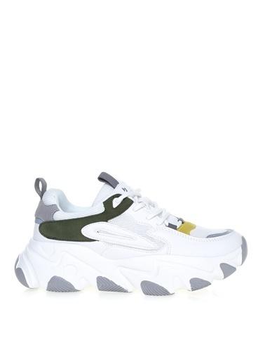 Hammer Jack Hammer Jack Beyaz - Yeşil Sneaker Beyaz